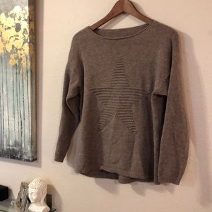 Carina Ricci star sweater from Anthropologie - M